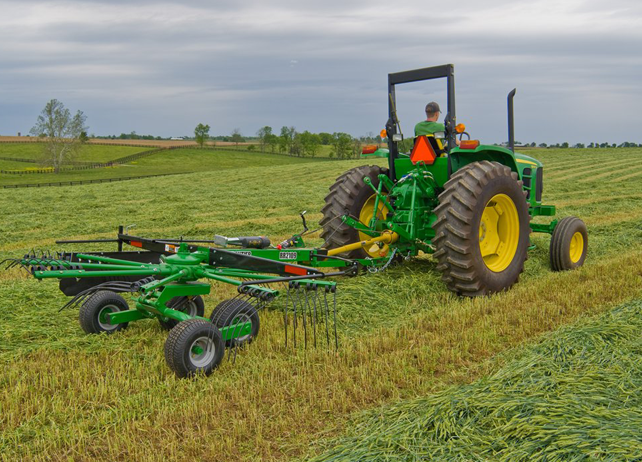 John Deere RR21 Series Rotary Rakes Hay Equipment JohnDeere.com
