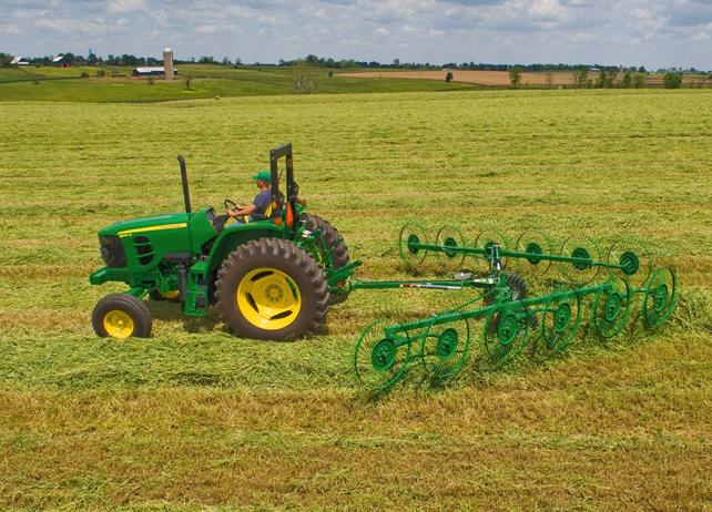 john deere wr30 series wheel rakes rake width adjustment down pressure ...