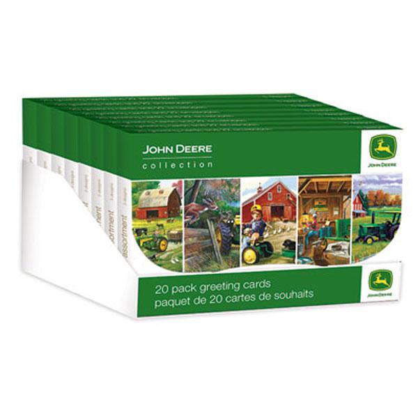 John Deere Everyday Greeting Card 20-pack - LP51675