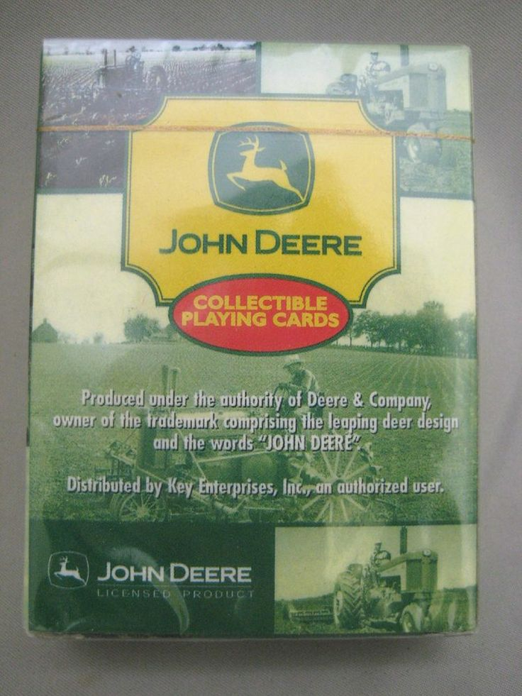 NEW pack of #JohnDeere Collectible Playing Cards