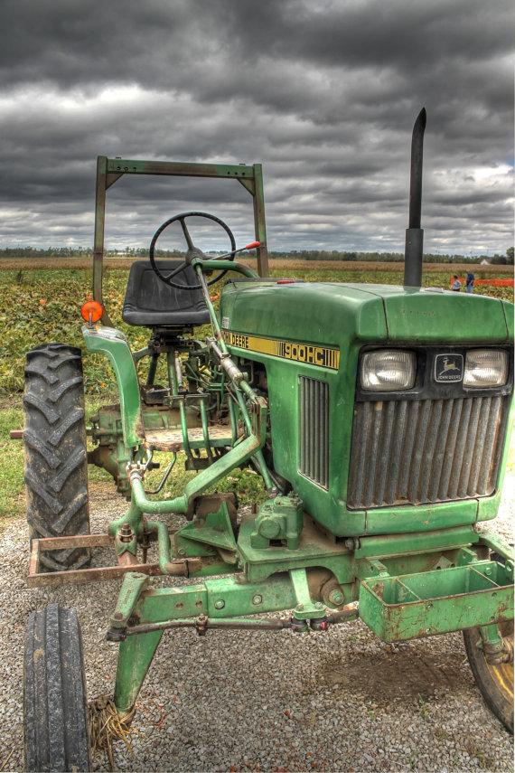 John Deere tractor Tractor home decor John Deere home decor