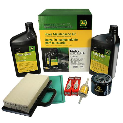 Maintenance Kits - JOHN DEERE #LG230 HOME MAINTENANCE KIT FOR 125, 135 ...
