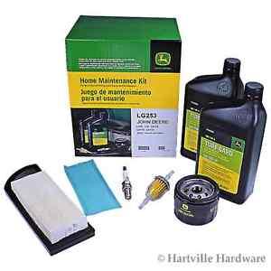 John Deere LG253 Home Maintenance Kit LA105 LA110 LA115 L108 Z225 ...