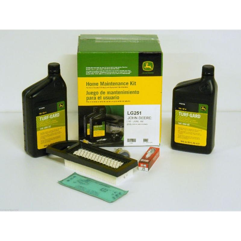 John Deere Home Maintenance Service Kit LG251 102 105 L100 LA100 Z225 ...