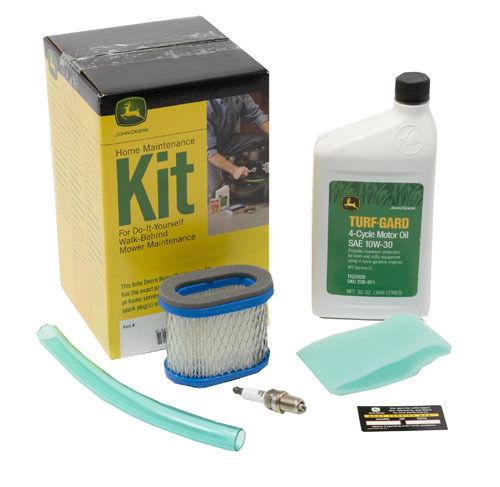 John Deere Home Maintenance Kit for JA & JS Series Walk Behind Mowers ...