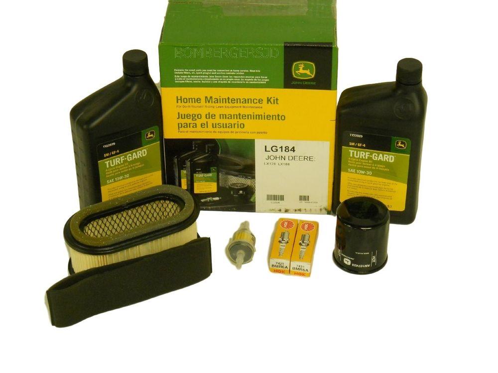 John Deere Home Maintenance Service Kit LG184 LX178 LX188 Do It Your ...