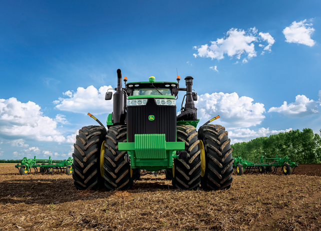 9420R Tractor 9R/9RT Series Tractors Four-Wheel Drive Tractors ...
