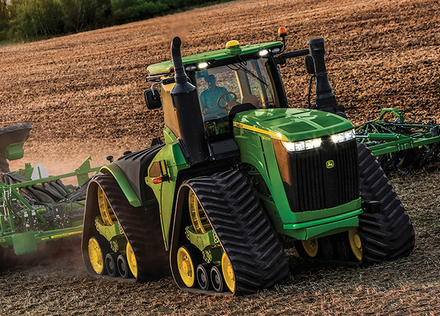 Family 4WD/Track Tractors | 9620RX Tractor | John Deere US
