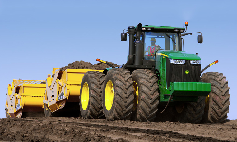 Efficient earthmoving at an economical price.