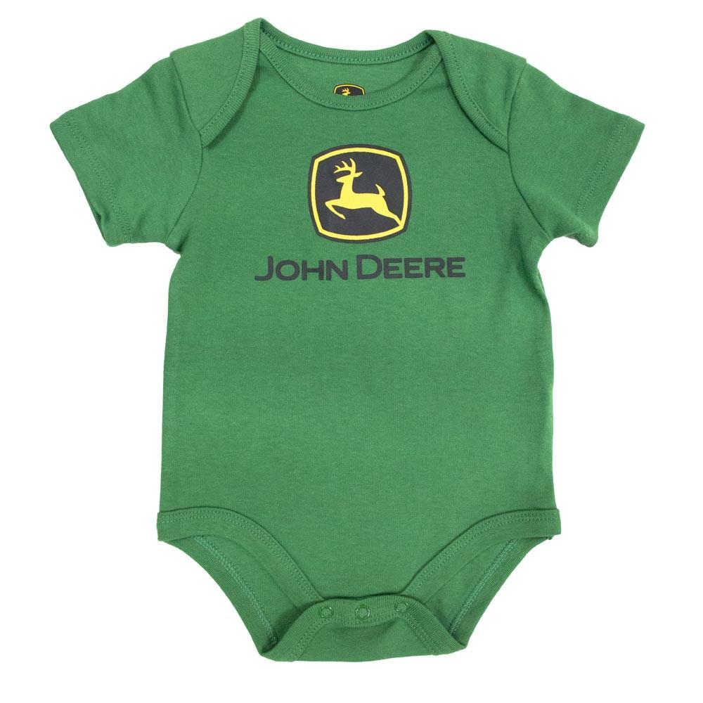... Brands —— John Deere —— John Deere Green Infant Bodyshirt