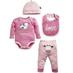 ... John Deere for Girls on Pinterest | John deere, LPs and Infant girls