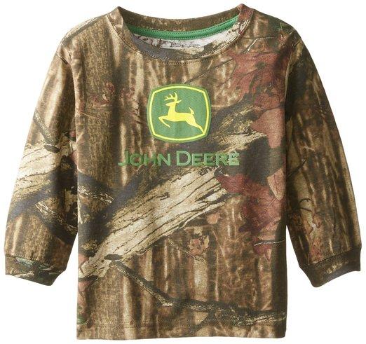 ... Deere Kids Clothing > John Deere Little Boys Mossy Oak Short Sleeved T