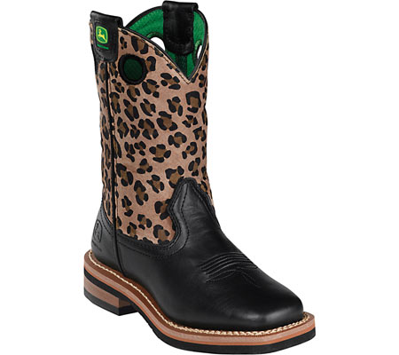 Childrens John Deere Boots Square Toe Pull-On 2310 - FREE Shipping ...