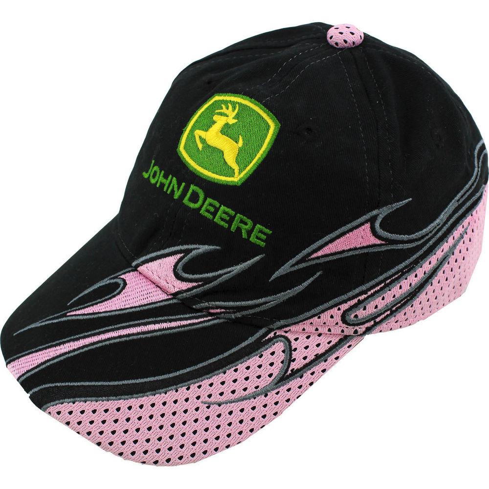 John Deere Girls Toddler Baseball Cap Trucker Hat FTC270K 2T/3T 4T/5T ...
