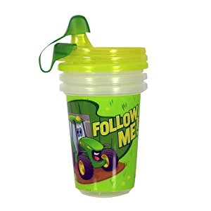 Amazon.com : John Deere Take & Toss Sippy Cup, 3 Pack : Baby