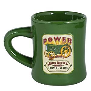 Buy Stoneware Diner Mug By Mc Cormick Farmall (Green John Deere ...