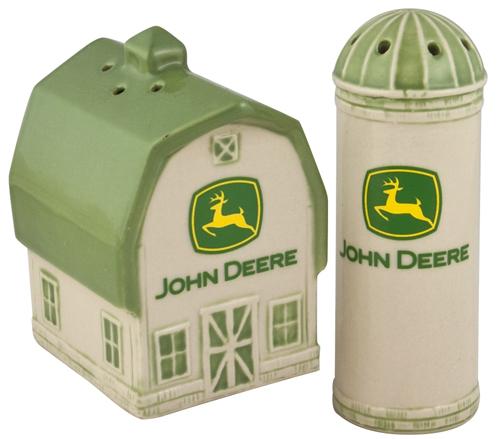 ... Deere Housewares > John Deere 2000 Logo Salt and Pepper Shaker Set