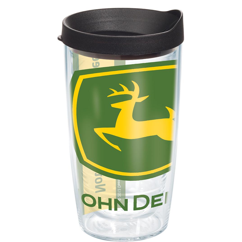 John Deere Logo Tumbler with Lid by Tervis Tumbler