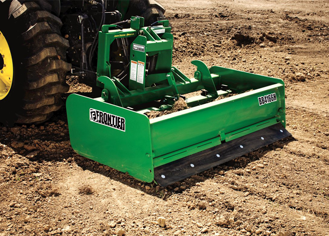 tailgate for superior results hydraulically adjustable scarifier ...