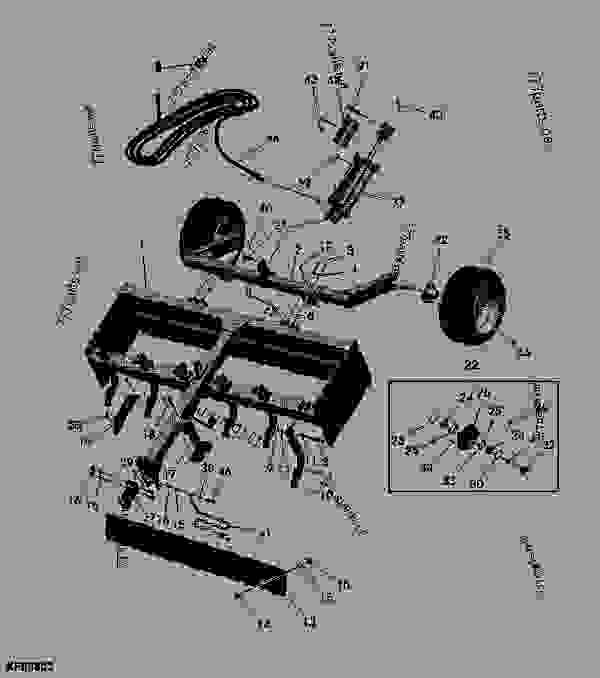 SCRAPER John Deere LL1160 - SCRAPER - LL1160, LL1172 Drawn Box Scraper ...