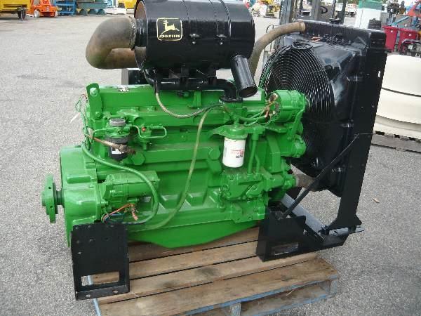 John Deere 6068TF158 Diesel Power Pack Engine - Pulp / Paper / Board ...