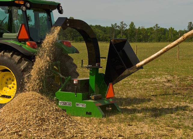 WC11 Wood Chippers | Landscape Equipment | John Deere US