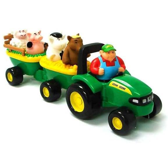 John Deere Animal Sounds Hay Ride at Growing Tree Toys