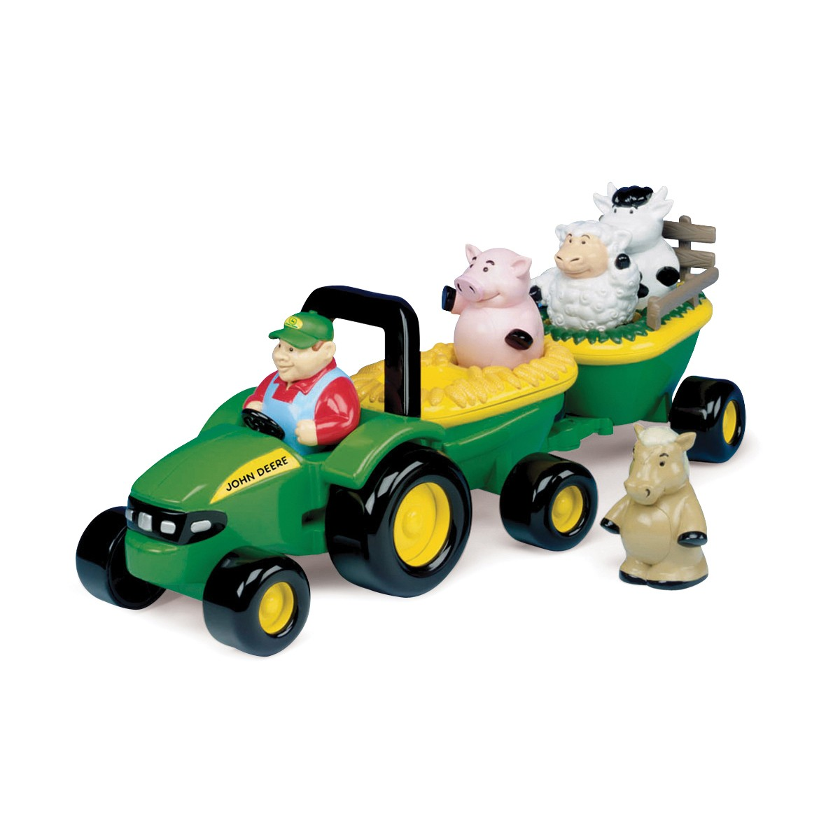 John Deere Animal Sounds Hay Ride | QC Supply