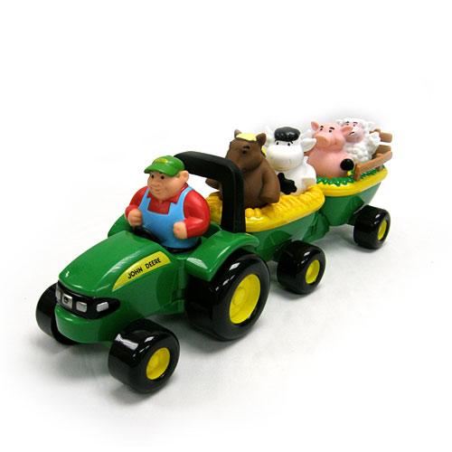 John DEERE ANIMAL SOUNDS HAYRIDE - The Toyworks
