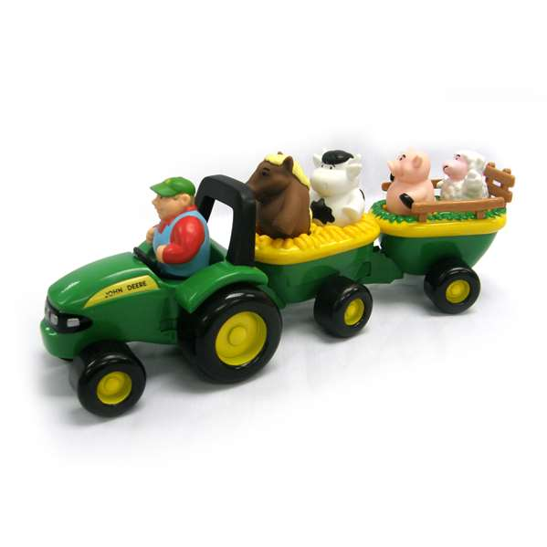 Layby Online John Deere Busy Driver & Animal Sounds Hayride Bundle ...