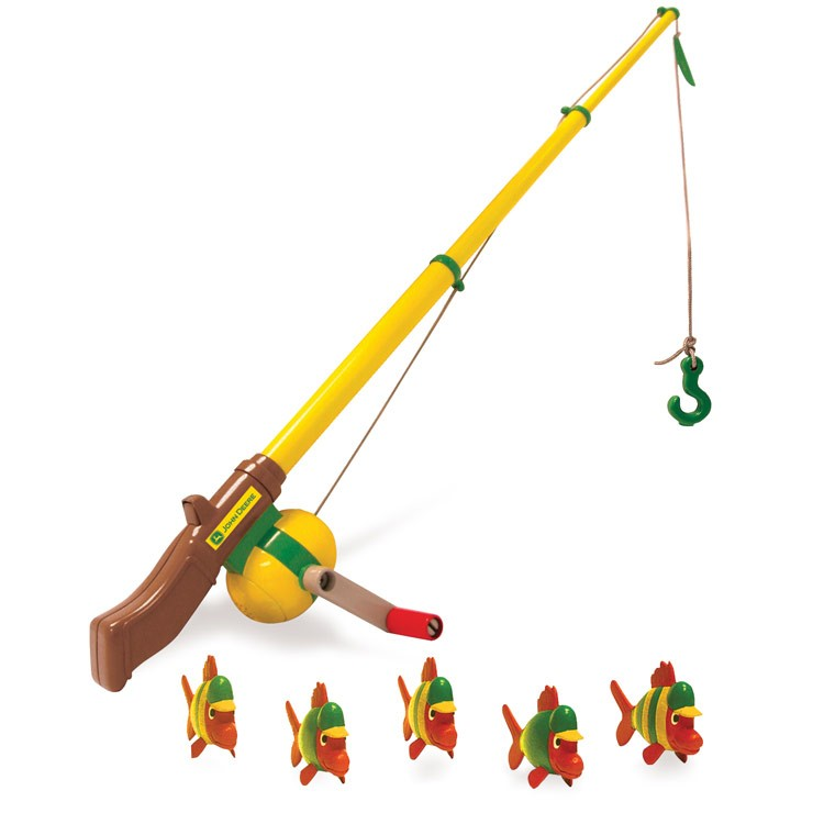 John Deere Kids Fishing Pole Playset - Educational Toys Planet