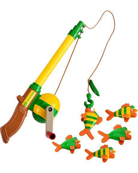 John Deere Electronic Sounds Fishing Rod Toy Set - Sheplers