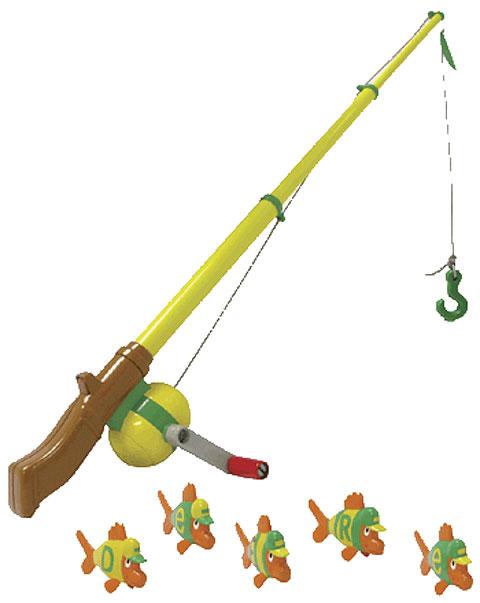 ERTL John Deere Preschool Electronic Fishing Pole