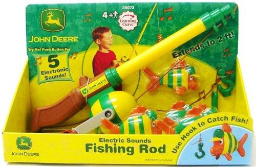 Details about Ertl John Deere Electronic Fishing Pole, Free Shipping ...