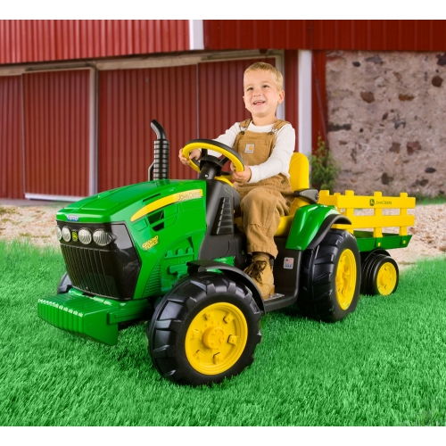 Peg Perego Battery Operated John Deere Ground Force Tractor