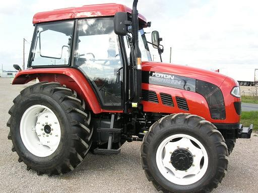 Foton Europard 824 - Tractor & Construction Plant Wiki - The classic ...