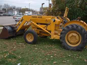 Ford 420 Loader Tractor