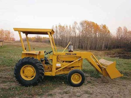 1978 Ford 420 Tractor http://bagley mn.showmethead.com/other vehicles ...