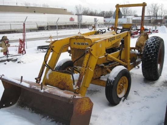 Pics Photos - Ford 420 Tractor