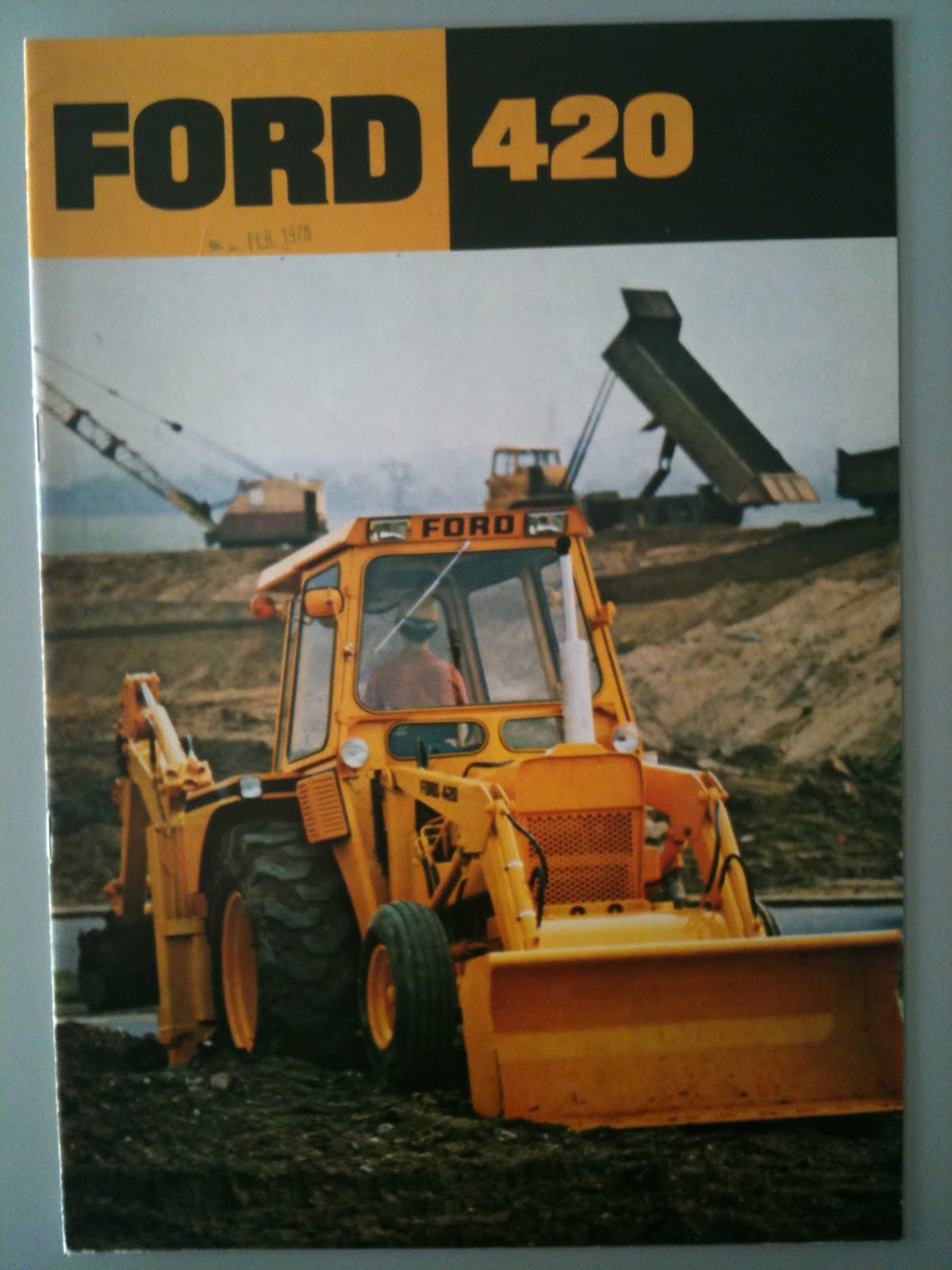 1978 Ford 420 Tractor submited images.
