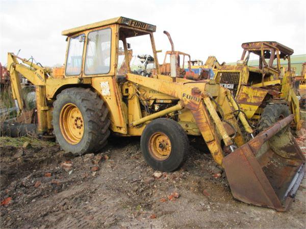 Ford 4550 4x2 rendegraver til ophug til salg - Brugte Ford 4550 4x2 ...