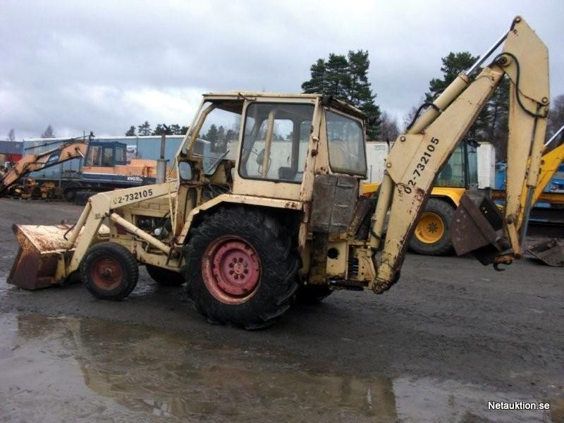 Netauktion.se - Traktorgrävare Ford 4550 (Perstorp) - 0676-025 - 1