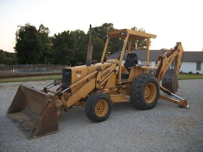 Ford 455d Backhoe Parts Helpline 1-866-441-8193 | Alma Tractor ...