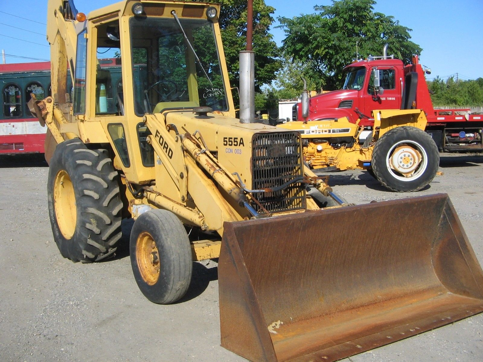 Ford 555a Xl Tractor Loader Backhoe