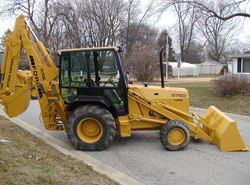 1995 Ford 575D Backhoe (new engine)- Terre Haute, IN