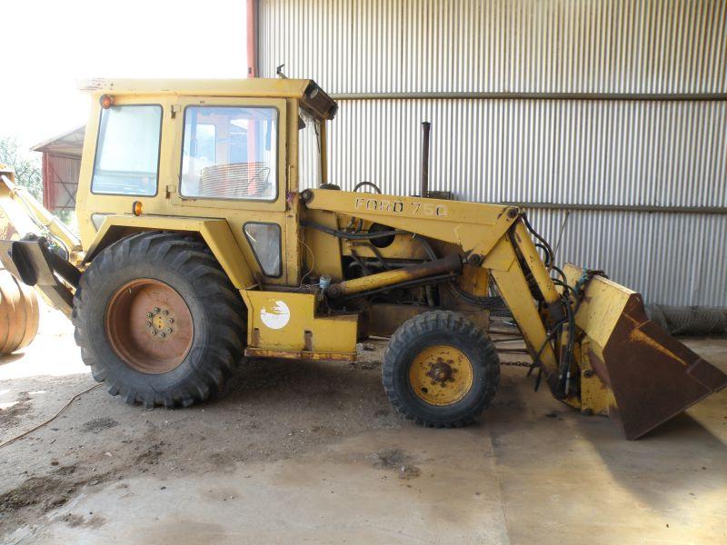 Ford 755 Backhoe Parts Helpline 1-866-441-8193 | Alma Tractor ...