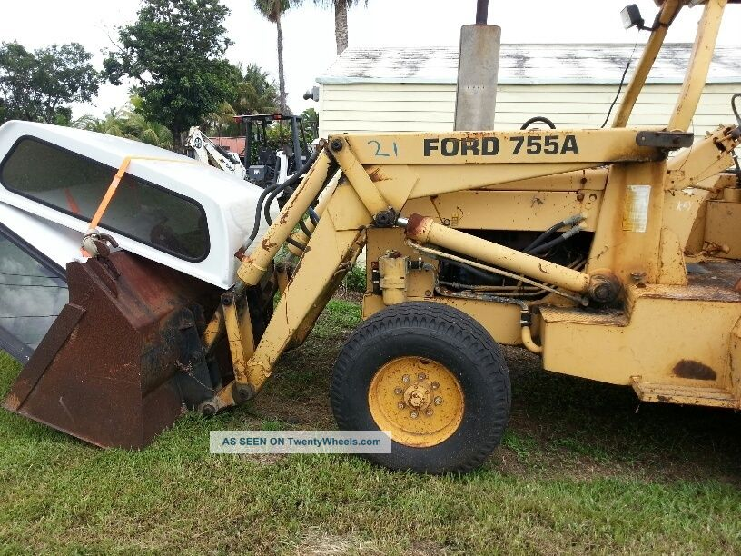 Ford 755a 755 Backhoe 2567 Orig Hours City County Owned & Maintained $ ...