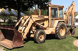 Ford 755 backhoe weight #4