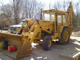 Cost to Ship - 1983 Ford 755 Backhoe Loader - from Rockland to ...