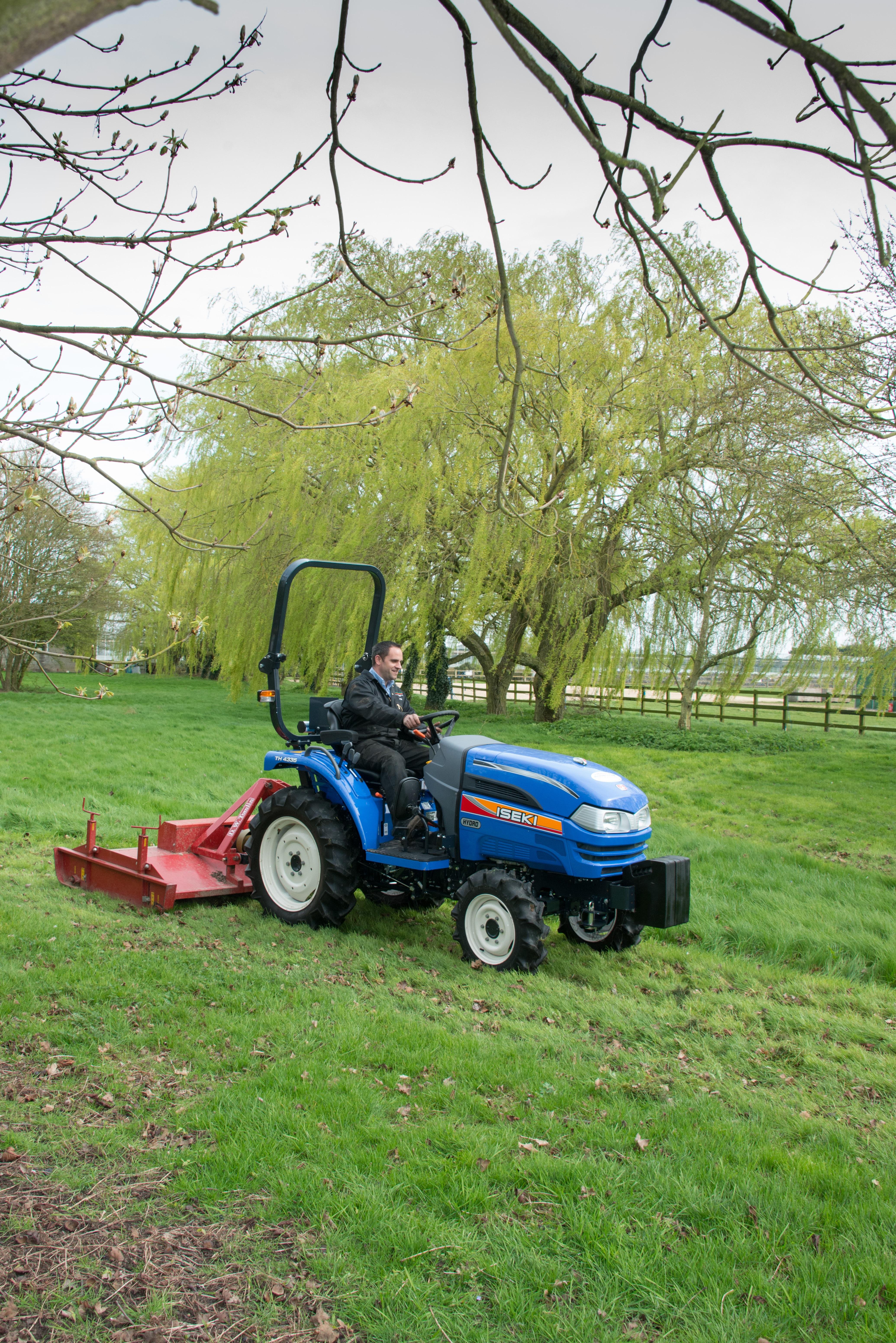 Iseki TH4335 Tractor Nigel Rafferty Groundcare